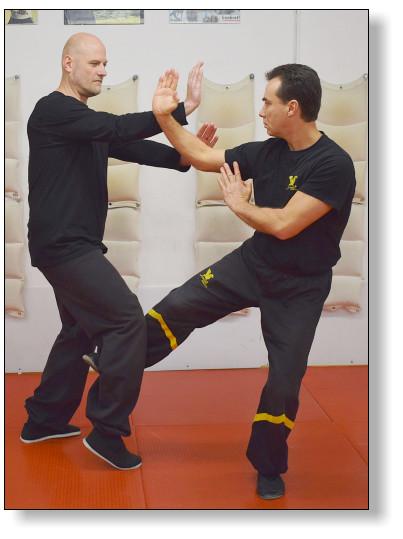 DRAGOS WING TSUN LEAGUE-Instruktoren trainieren hart, um immer