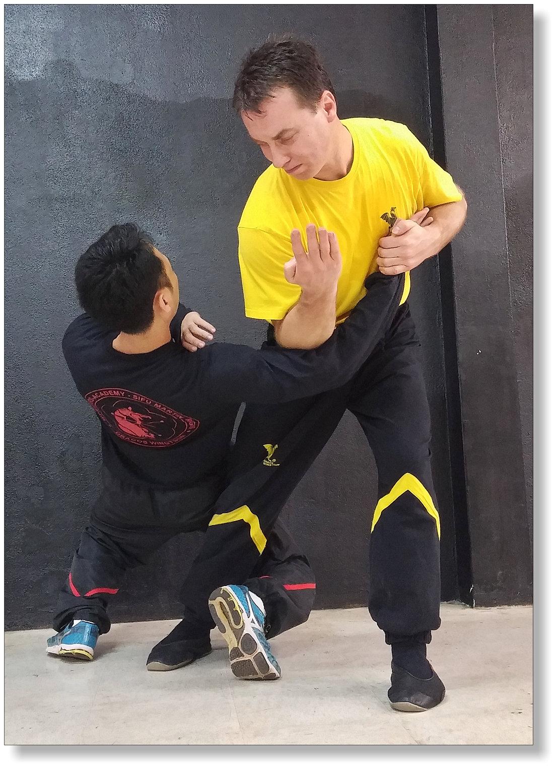 Unsere Tutoren werden von Dai-Sifu Martin Dragos persönlich ausgebildet