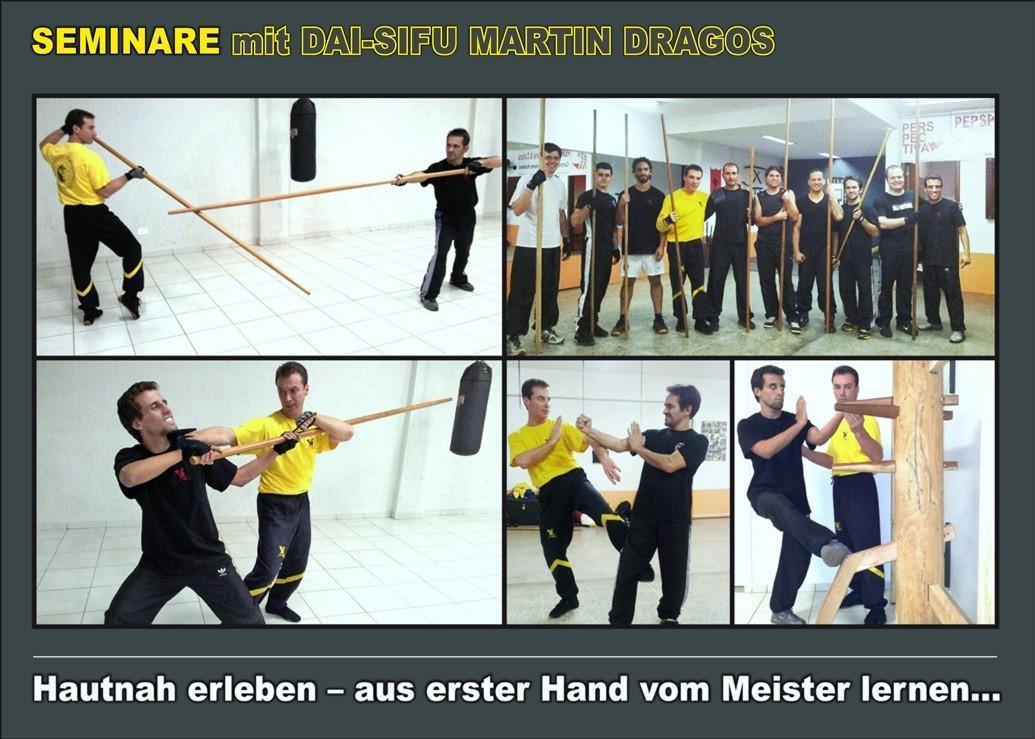 Wing Tsun Live Seminare mit Meister Martin Dragos