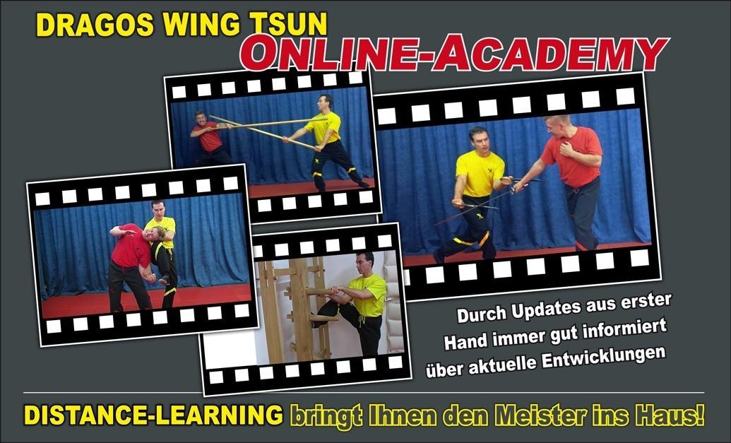 Mit Hilfe der Wing Tsun Online Academy (Distance Learning) holen Sie sich den Wing Tsun Meister in die eigenen vier Wände.