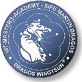 POWERED BY DRAGOS WING TSUN Logo