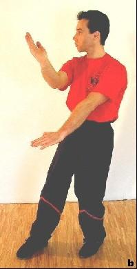 Der Scheren-Gan-Sao ermöglicht den gleichzeitigen Schutz oder Angriff auf zwei Ebenen