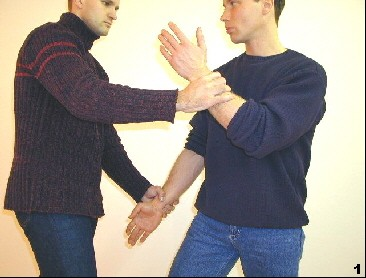 Der Gegner greift Sifus Dragos Arme